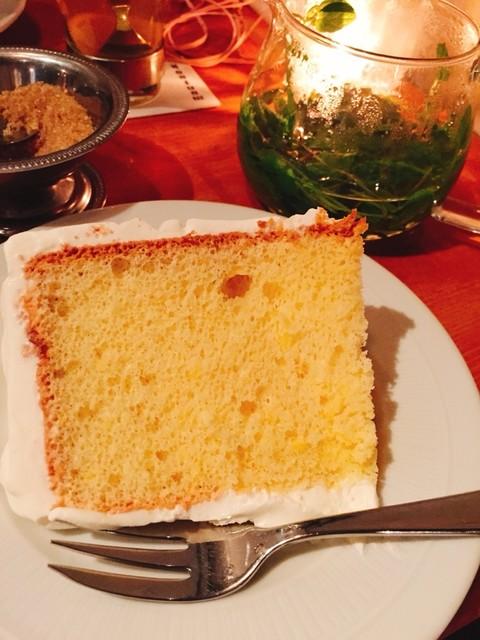 モントーク - オレンジのシフォンケーキ