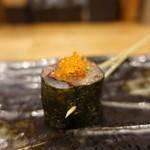 鉄板神社 - ☆鯵冷やし串(^_-)-☆☆