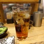 鉄板神社 - ☆烏龍茶で乾杯です☆
