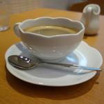 カフェゆとりの空間 - 珈琲もタップリサイズ