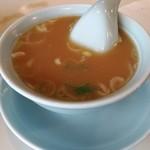 67227805 - 魚介系の香るスープ