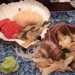 六番目 - ホタテとつぶ貝
