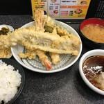 天ぷら まつりや - ボリューム天定食