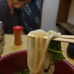あっさりうどん - 博多風柔麺