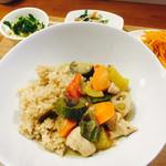 木月キッチン - 鶏と野菜たっぷりグリーンカレー