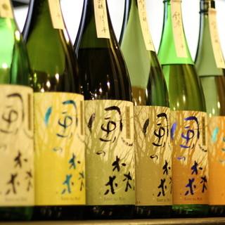 店主が惚れ込んだ!日本酒なら【風の森】で決まり!