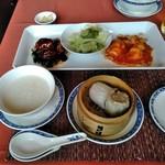 ホテルオークラレストラン新宿 中国料理 桃里 - [料理] ベストバランスランチ セット全景♪w