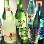 玉之湯 - ドリンク写真:日本酒各種
