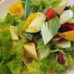 ラ・フォンターナ - 減農薬野菜のペペロンチーノ