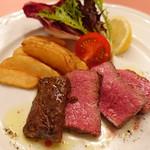 ピッツェリア・サバティーニ - ブラックアンガス牛のロースト+500円