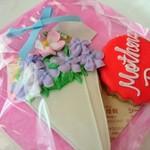 タイニーケーク - ママの日用のアイシングクッキー!