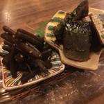 白雪 - キャラブキと身欠きニシンの山椒煮