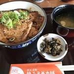 野さか - 【2017.5.11】並盛り 豚&ロース ¥900
