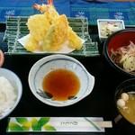 藤波亭 - 料理写真:天ぷら定食