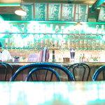 shot bar アメリカ物語 - カウンター