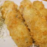 牡蠣バル - 「広島県産牡蠣フライ定食」(880円)