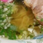 ラーメン 菅家 - 鶏がらスープ
