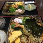 篠嶋屋 - 料理写真:2人共エビくずし❗️1150円 私は、家で若鯱家の冷凍うどんを直ぐ食べました。