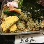 篠嶋屋 - 食べ物として、バランスが抜群です。 男の人には物足りない分量です。