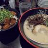 mentatsu - 料理写真:とんこつ+テリヤキ丼(1,080円)