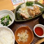 ガスト - 料理写真:若鶏の竜田揚げ和膳(おろしポン酢)(863円)