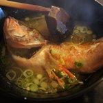 三共食堂 - かさごの味噌汁