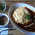 森のBe-Cafe - スープ・サラダつき(\980)