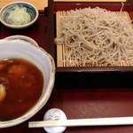 手打ち蕎麦・うどん 彩め - とろろ汁せいろ(950円)