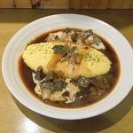 厨 Sawa - 牛ホホ肉のハヤシのオムライス