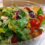 モア サラダ - ボリューム満点!お野菜がもりもりいただけます♡
