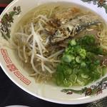 因島産直センターうまや - 名物:太刀魚ラーメン