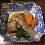 みつ子ばぁばの台所 - 《みつ子ばぁばの手作り三枚肉煮付け》780円(税別) 2017/5/19