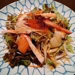 魚貝亭 - 魚貝亭サラダ 540円