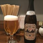 鳴龍 - 「瓶ビール」500円