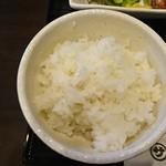 めんどくサガリ屋 - ライス(サガリ屋定食 1.5倍)