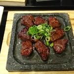 めんどくサガリ屋 - サガリ肉:サガリ屋定食 1.5倍