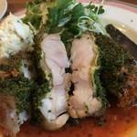 Daurade - 鶏の香草焼き