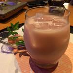 地鶏小町 - カシスミルク