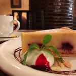 アンデパンダン - ベリーのチーズケーキ