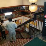 酒蔵松竹 - お店は地下へと降りて行きます