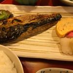 酒蔵松竹 - こんな塩鯖です