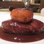 ル・ヴァン ドゥ - 牛・鴨・豚挽肉のハンバーグ