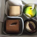 バニラの実 - ショートケーキ 4個購入