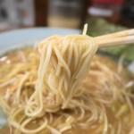 67259061 - ネギ味噌(並)、細麺です