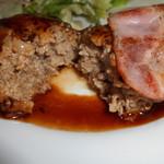 カフェレストラン ROTI - ハンバーグ自体は普通に美味しい~