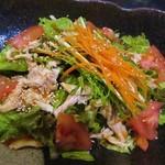 67261808 - 蒸し鶏サラダ