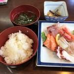Taikoushouten - 城崎定食(1780円)