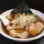 菊壱 - ワンタン麺
