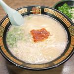 一蘭 - ラーメン(890円)+追加ねぎ(120円)