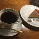 カルネ - ケアブレンド、ベイクドチーズケーキ